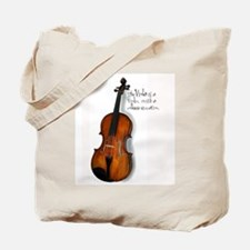 ViolaCollegeEducation.png Tote Bag