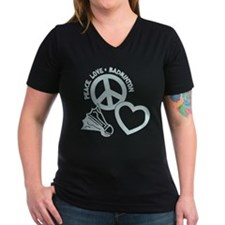 PEACE-LOVE-BADMINTON Shirt
