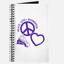 PEACE-LOVE-BADMINTON Journal