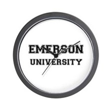 EMERSON UNIVERSITY Wall Clock
