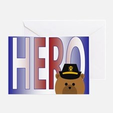 Army Officer Veteran's Day Thanks Greeting Cards