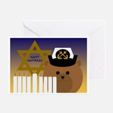 To Navy Chief Hanukkah Card Greeting Cards
