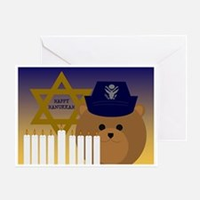 To Officer/ Female Hanukkah Air Forcgreeting Cards