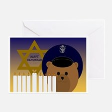 To Deployed Officer Hanukkah Air Forgreeting Cards