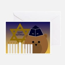 To Deployed Air Force Hanukkah Greeting Cards