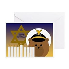 To Officer Coast Guard Hanukkah Greeting Cards