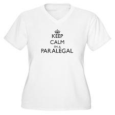Keep calm I'm a Paralegal Plus Size T-Shirt