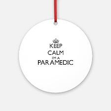 Keep calm I'm a Paramedic Ornament (Round)