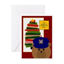 Coast Guard Coastie Missing U @ Greeting Cards