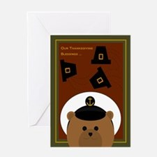 Thanksgiving Card To Navy Enlisted Greeting Cards