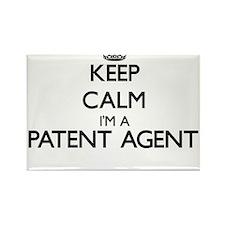 Keep calm I'm a Patent Agent Magnets