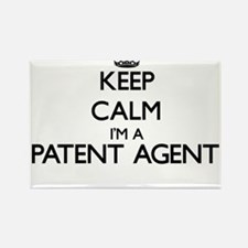 Keep calm I'm a Patent Agent Magnets