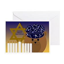 To Navy Sailor Hanukkah Card Greeting Cards