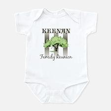 KEENAN family reunion (tree) Infant Bodysuit