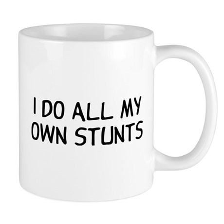 I Do Stunts Mug