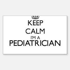 Keep calm I'm a Pediatrician Decal