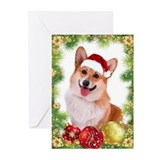 Corgi holiday Greeting Cards (20 Pack)
