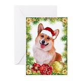 Corgi holiday Greeting Cards (20 Pack)