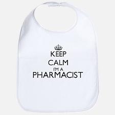 Keep calm I'm a Pharmacist Bib