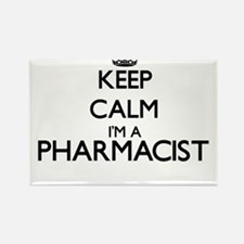 Keep calm I'm a Pharmacist Magnets