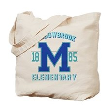 Cute Varsity Tote Bag
