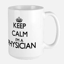 Keep calm I'm a Physician Mugs