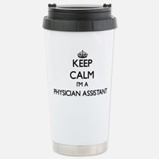Keep calm I'm a Physici Travel Mug