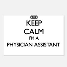 Keep calm I'm a Physician Postcards (Package of 8)