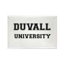 DUVALL UNIVERSITY Rectangle Magnet