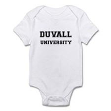 DUVALL UNIVERSITY Infant Bodysuit