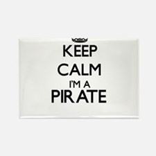 Keep calm I'm a Pirate Magnets