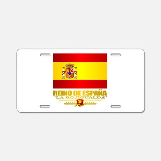 Espana (v15) Aluminum License Plate