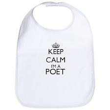 Keep calm I'm a Poet Bib