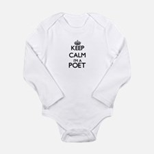 Keep calm I'm a Poet Body Suit