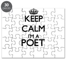 Keep calm I'm a Poet Puzzle