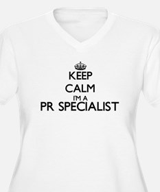 Keep calm I'm a Pr Specialist Plus Size T-Shirt
