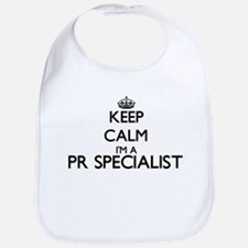 Keep calm I'm a Pr Specialist Bib