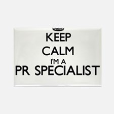Keep calm I'm a Pr Specialist Magnets