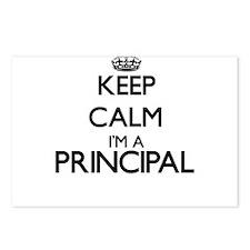 Keep calm I'm a Principal Postcards (Package of 8)