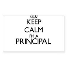 Keep calm I'm a Principal Decal