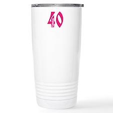 Fabulous 40 Travel Mug