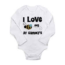 Beeing At Gammy's Long Sleeve Infant Bodysuit