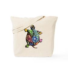 Periwinkle Blue Paisley Tote Bag