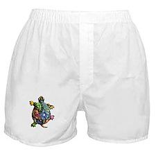 Periwinkle Blue Paisley Boxer Shorts