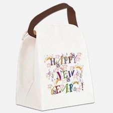 Happy New Year! Canvas Lunch Bag
