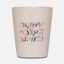 Happy New Year! Shot Glass