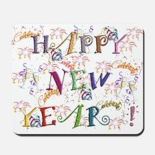 Happy New Year! Mousepad