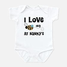 Beeing At Nanny's Infant Bodysuit