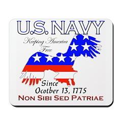 US NAVY Keeping America Free Mousepad