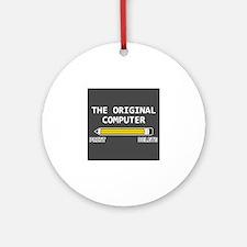 original computer Ornament (Round)